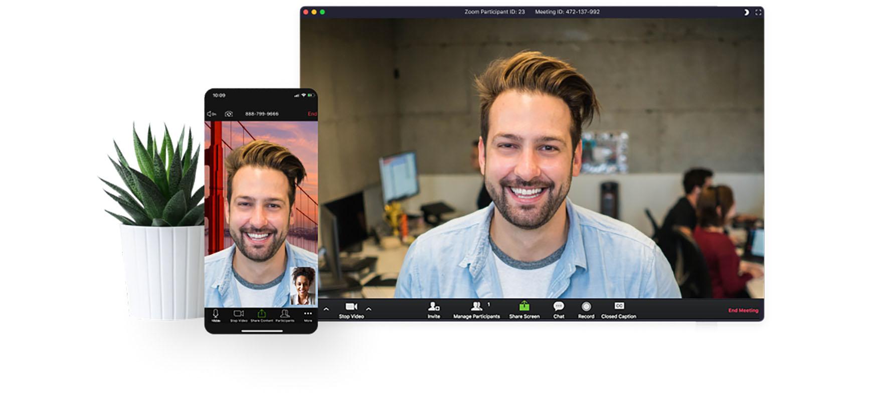 Ustekabeko agerraldiaren eragina: Zoom-ek Gmail-ek salto egin du, Skype'eta Facebook.  Nondik dator ospe hori?