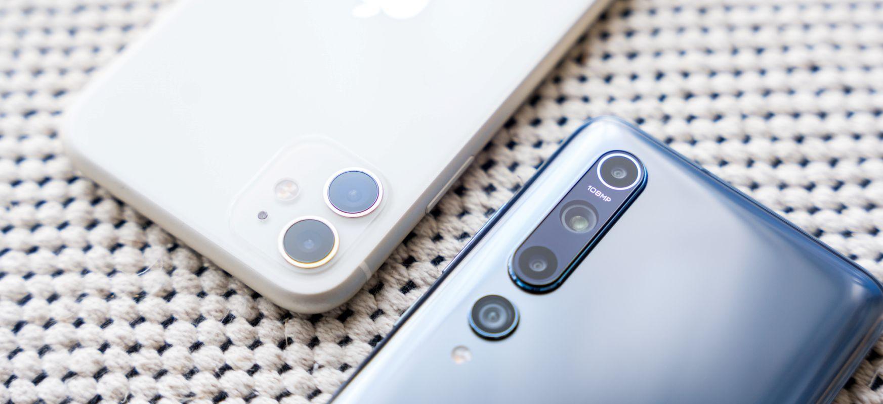 PLN 100 besterik ez da, eta hutsunea handia da.  Xiaomi Mi 10 versus iPhone 11 - smartphone konparazioa