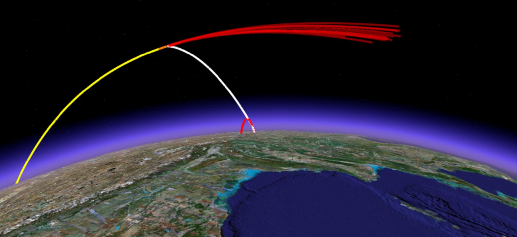 Errusia satelite bidezko tiro sistema bat probatzen ari da.  Amerikarrek onartzen dute sistema honek mehatxatzen dituela