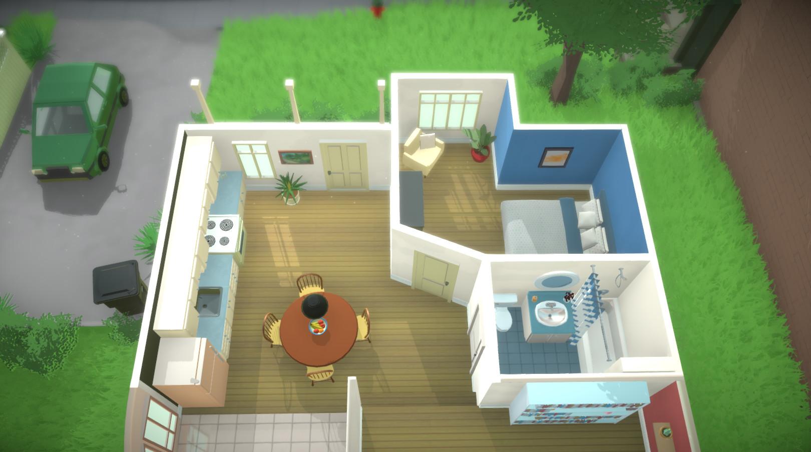 Paralives The Sims da lehen lehiakide serioa urte askotan.  Jokoan zentimetrorainoko etxea sortuko duzu