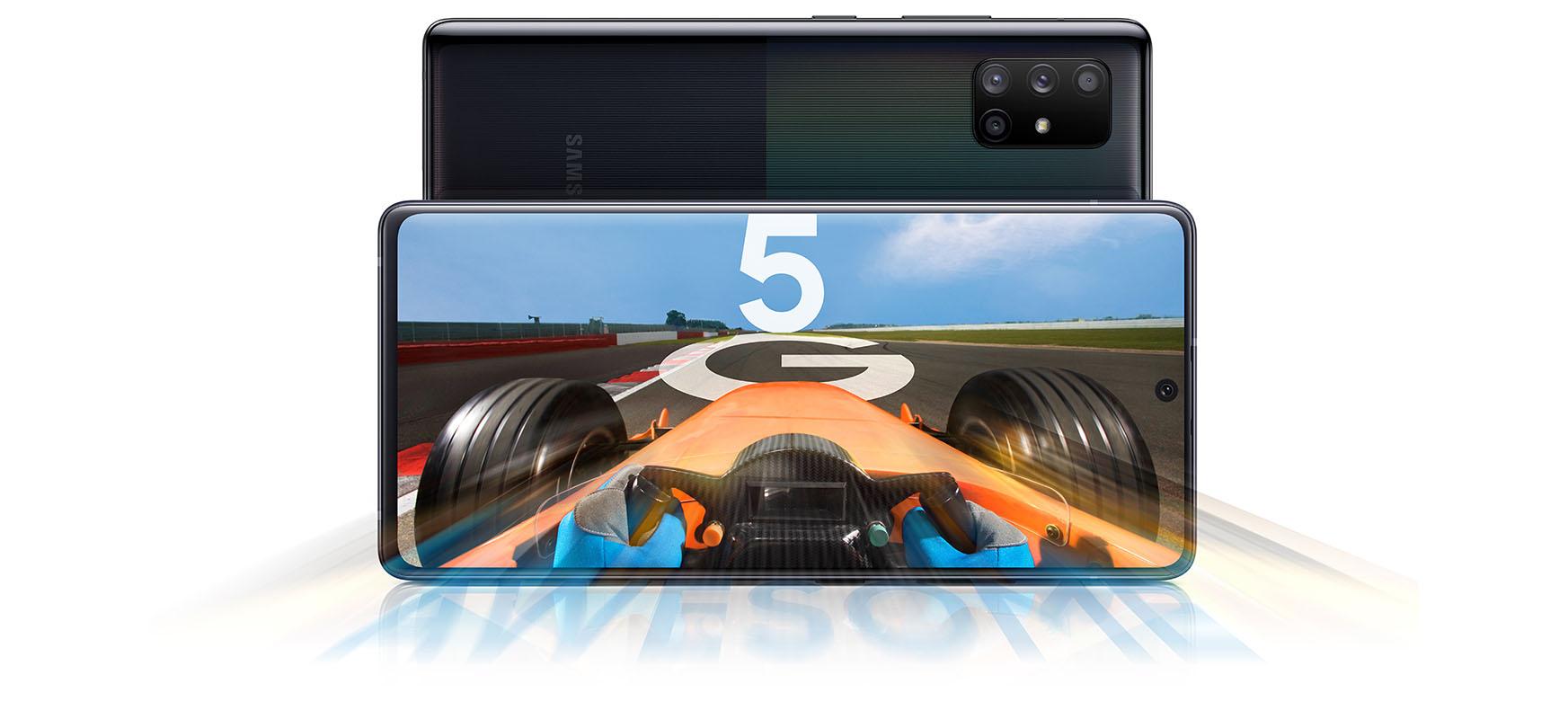 Samsung-ek debuta egiten du Galaxy A71 5G eta Galaxy A51 5G - sare masiboko bezeroentzako sareen belaunaldi berria