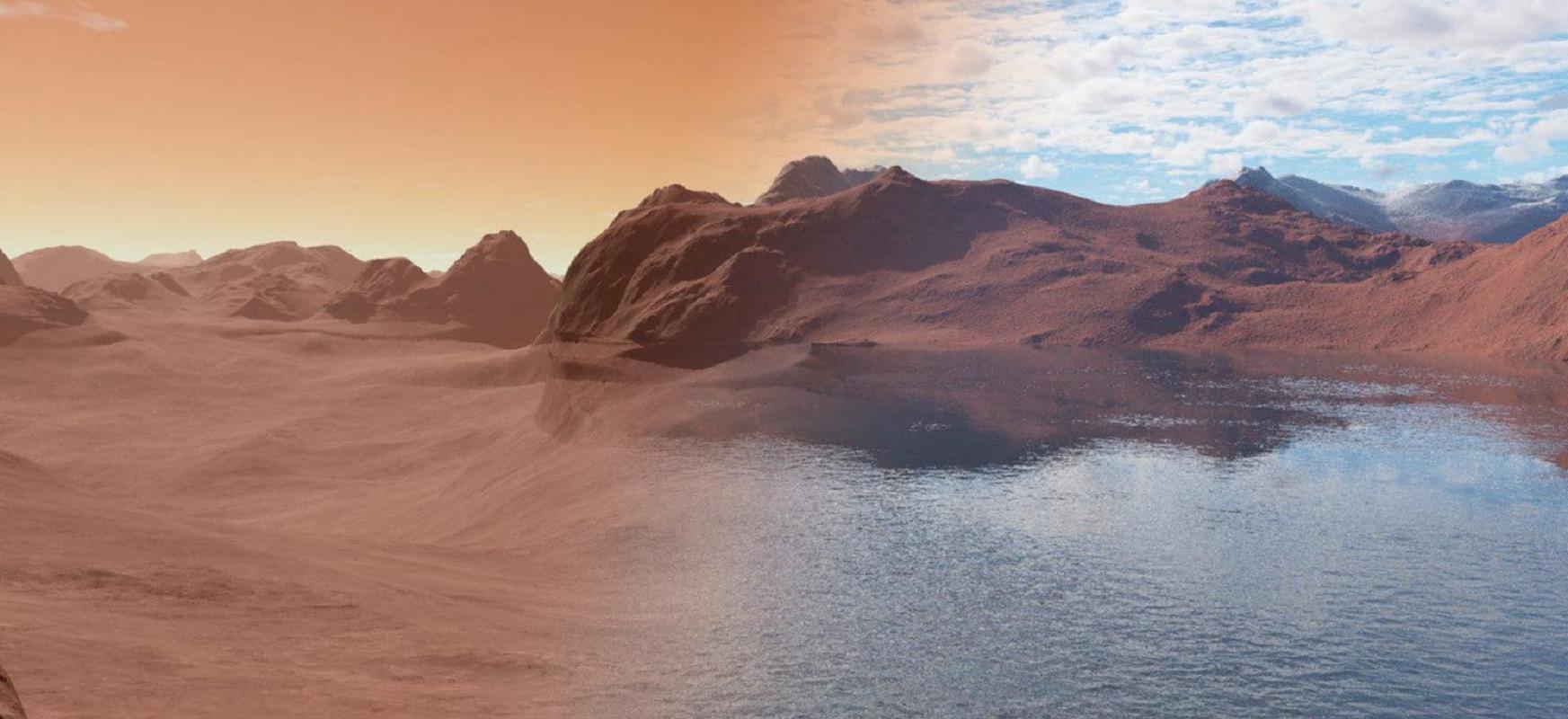 Meteoritoek Marteren uraren historia ezagutuko dute