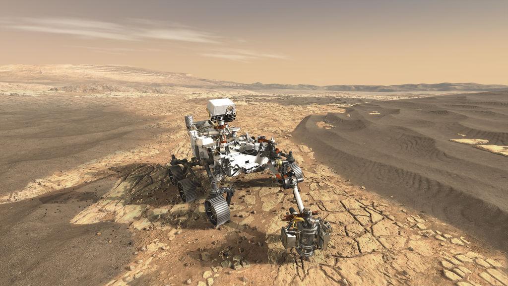 NASAren azken Mars Rover izeneko Perseverance izena zuen.  Ekainean Martera hegan egingo du