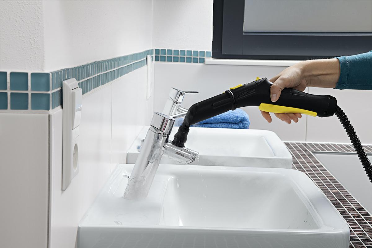Etxean bakterien% 99,99 desagerrarazi nahi duzu eta higieneaz arduratu?  Kärcher platera aurkitutako moduan egongo da