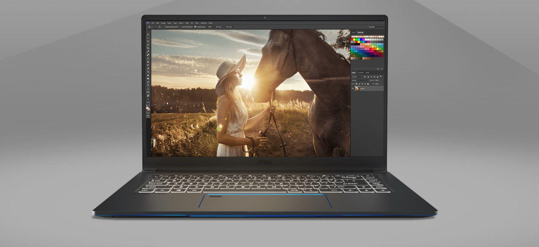 MacBook Pro 16 ez bada, orduan?  MSI Prestige 15 alternatiba bikaina da, bai #HomeOffice-n eta baita ondoren ere