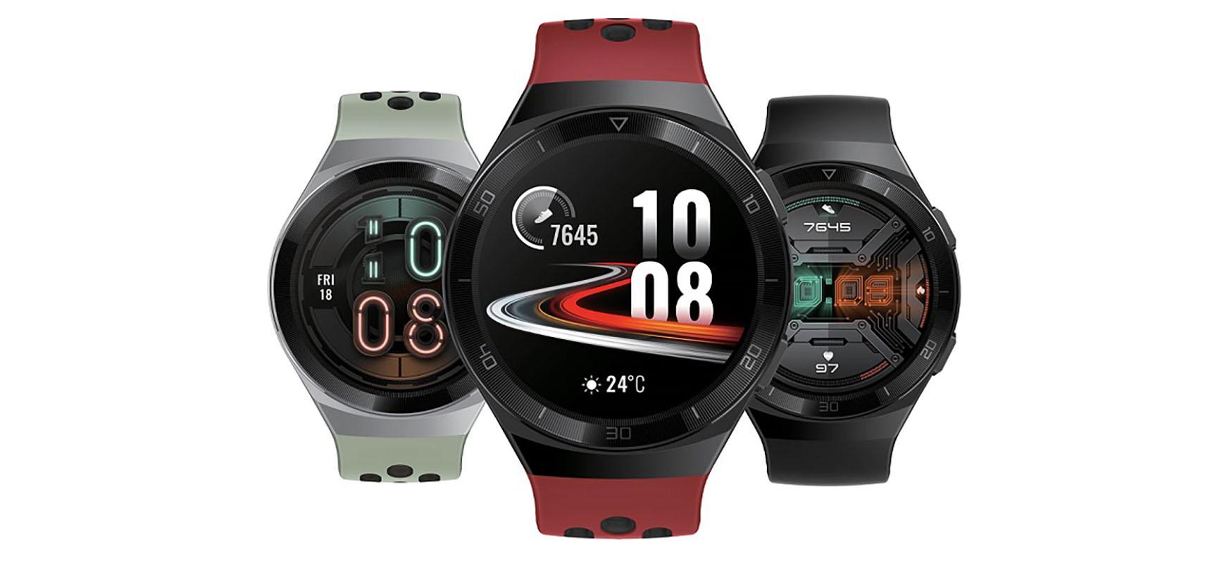 Huawei Watch GT 2e ofizialki.  100 kirol modalitate eta hasiera paregabea