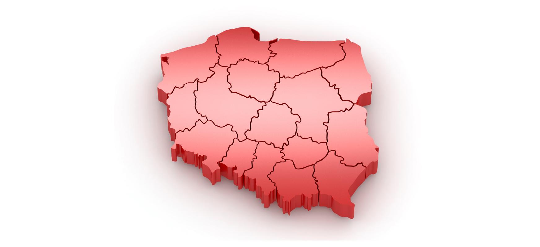 Coronavirus: Poloniako mapa.  Zuzeneko eguneratutako mapa eta estatistikak