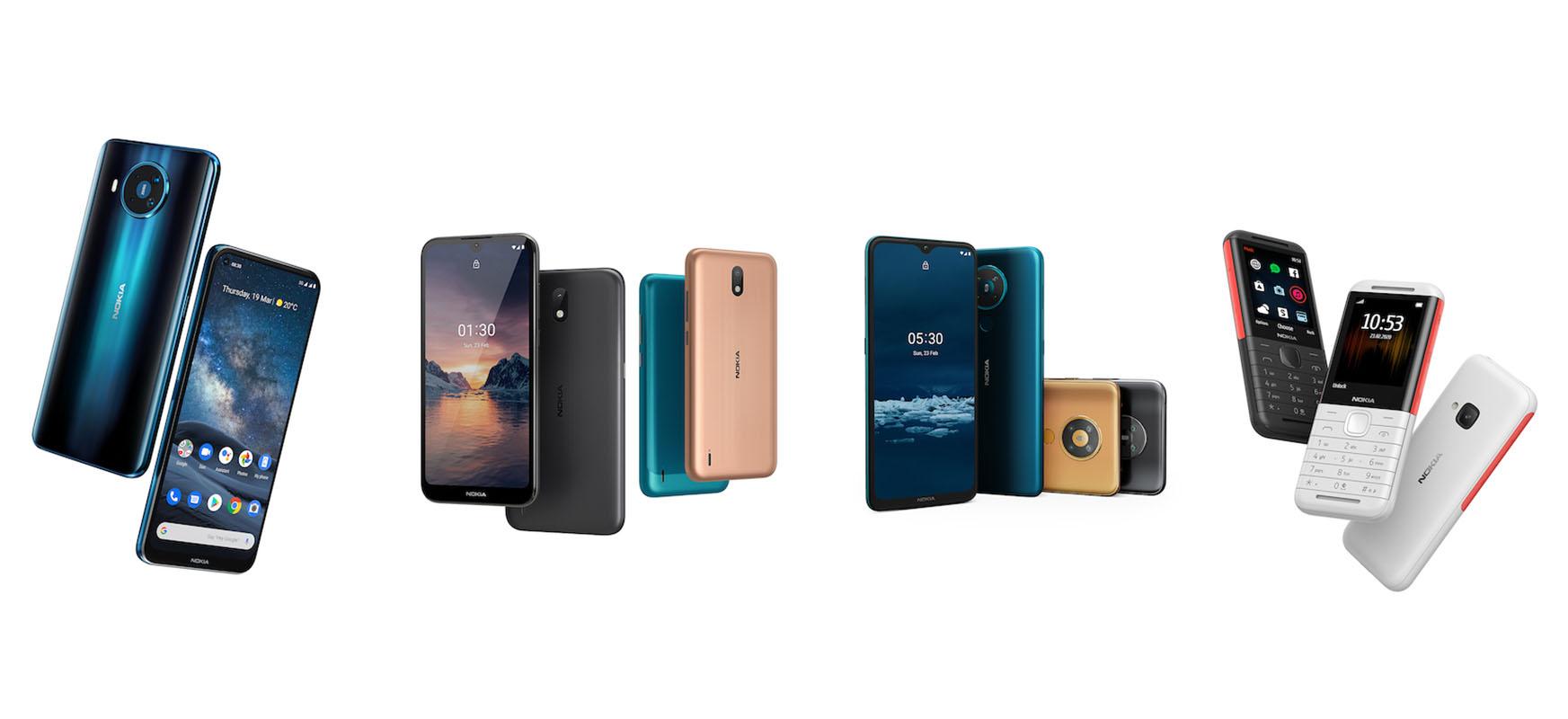 Nokia-k produktu berrien douxa.  Benetako 5G, telefono merkeak eta ... ibiltaritza zerbitzua