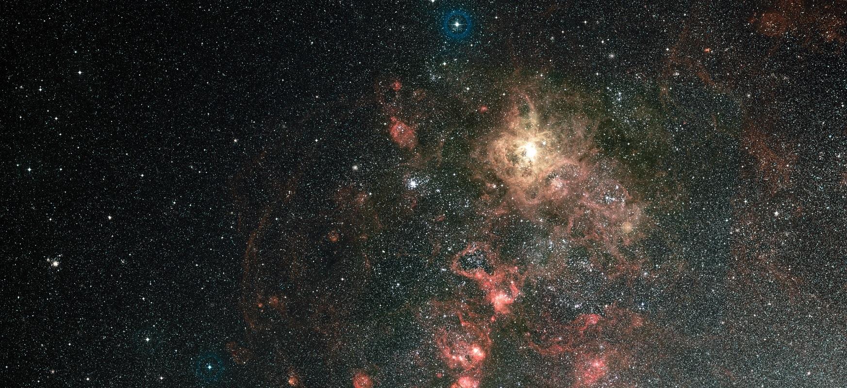 Hubble-k izar masiboak Tarantula Nebulan nola sortzen diren aztertzen du