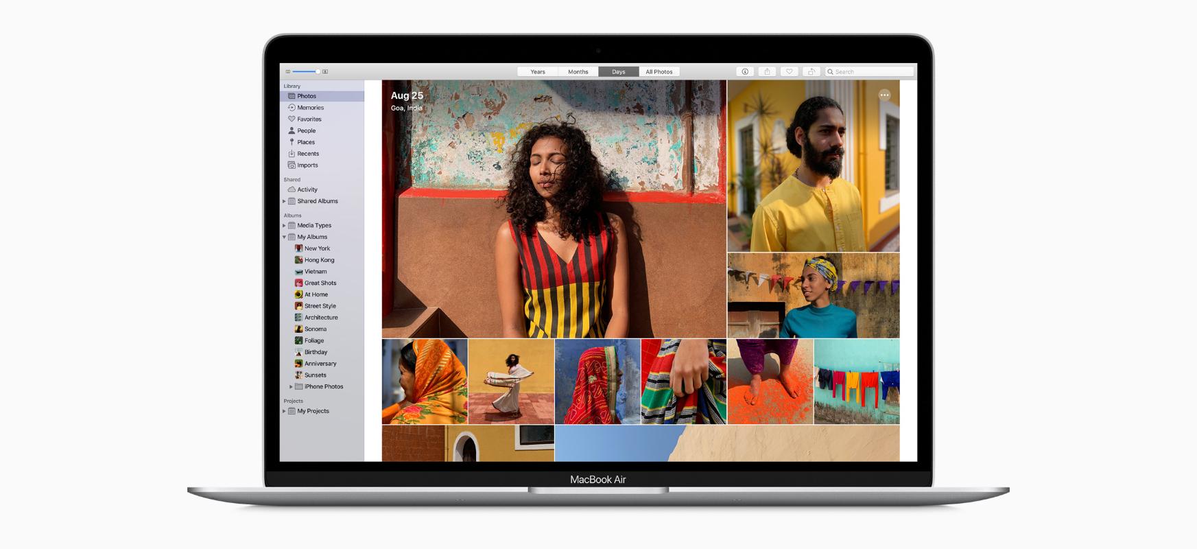 Hemen duzu MacBook Air berria.  Prozesadore berria, teklatu berria eta estandarra baino bi aldiz memoria handiagoa