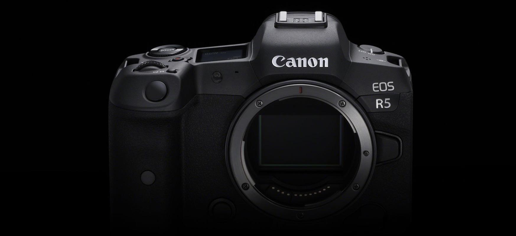 Canon-ek kritikei erantzuten die.  Canon EOS R5 8K 30 fps-tan filmatuko da