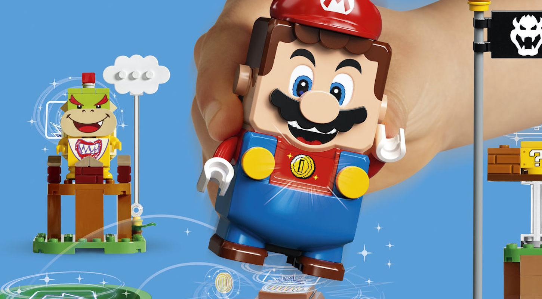 LEGO eta Nintendo batzen dira.  LEGO Super Mario jostailua harrigarria da, 2020an estreinatuko da.