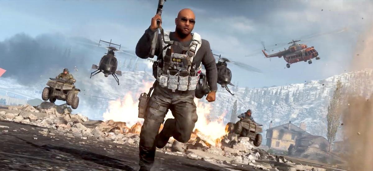 Doan.  Gehienez 150 jokalari.  Battle Royale  Call of Duty Warzone bihartik aurrera denek deskargatu dezaten