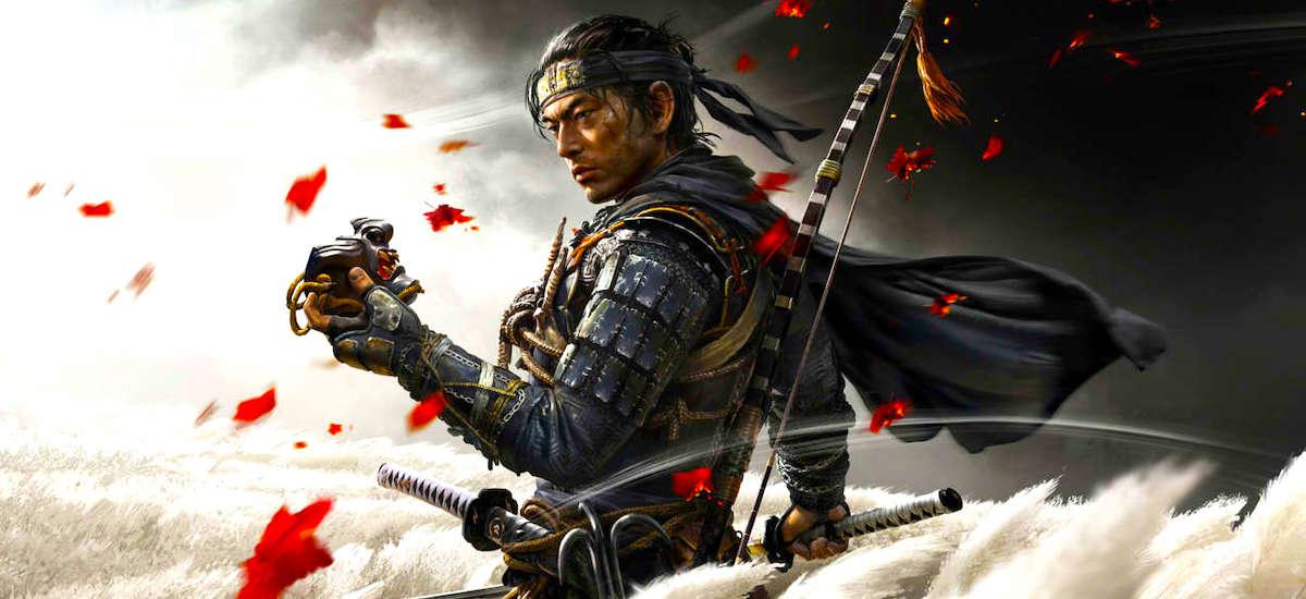 Mongoliarrekin borrokatuko dut Tsushimako Ghost-en.  Udaberria PS4-ri dagokio, samurai esker ez ezik