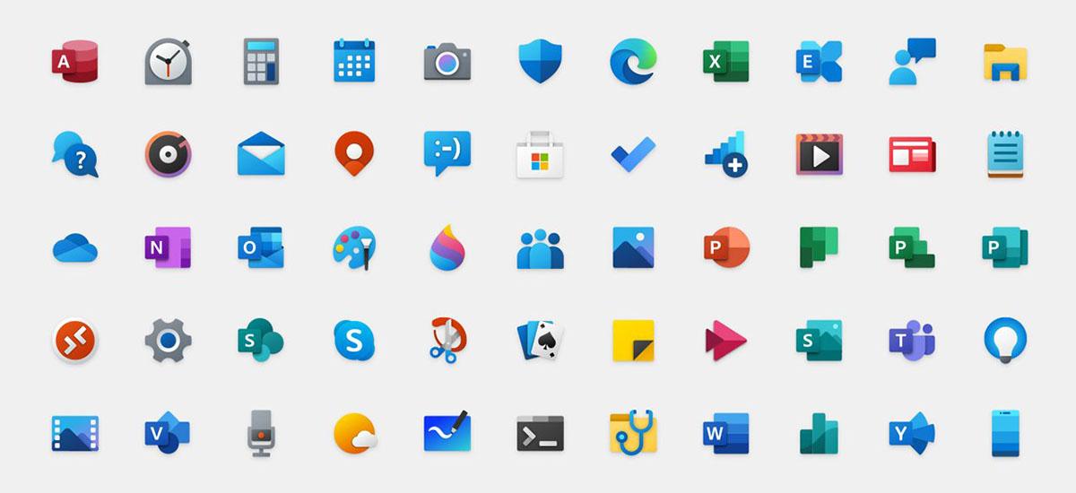 Windows 10 ikono berriak erabiltzaileengana doaz.  Ez duzu beta probatzaile izan behar horiek lortzeko