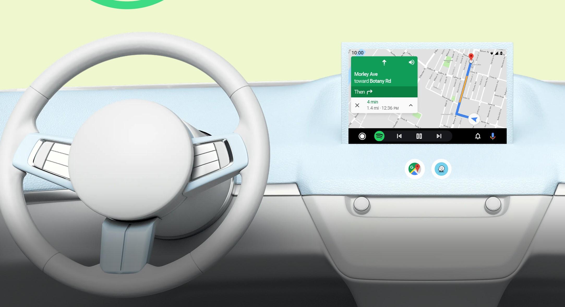 Android Car Poloniara gerturatzen ari da?  Aplikazioa Play dendatik instalatu ahal izan genuen