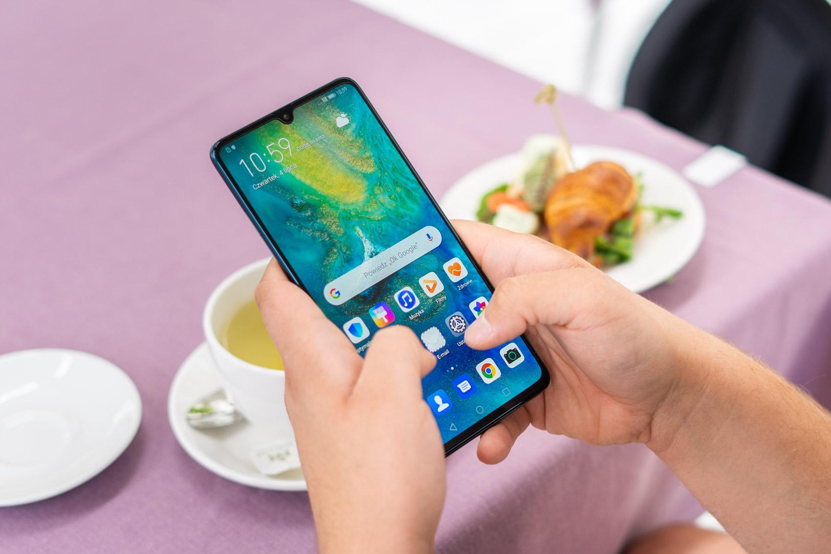 Huawei-k ez digu esaten ez digun zerbait.  Hongmeng OSak Androiden aurkari izateari utzi dio