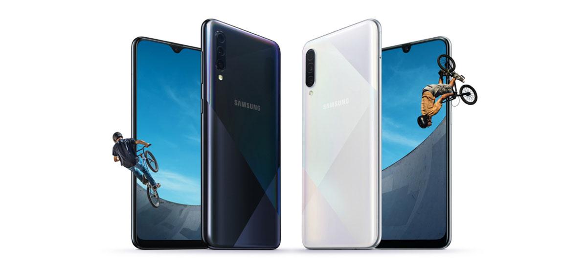 Samsung-en saldu diren smartphone onenak freskatu egin dira.  Hemen dituzu bertsio berriak Galaxy A50 eta A30