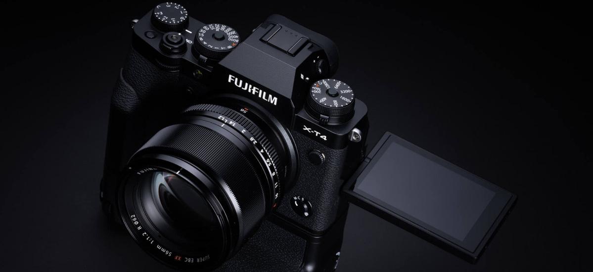 Fujifilm X-T4 berriak bere aurrekoak galdu zuen guztia dauka