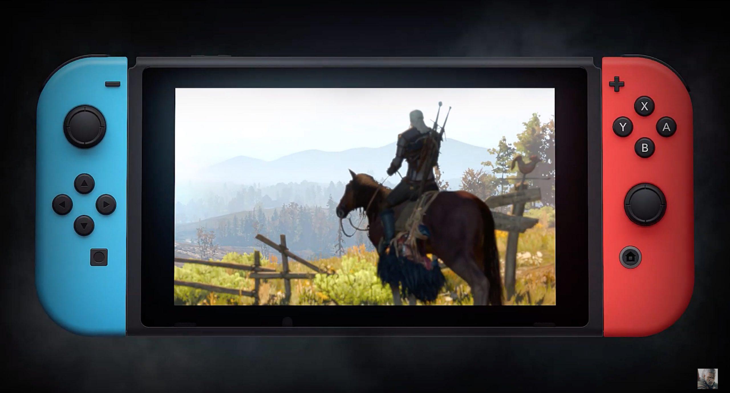 Witcher 3 buruzko Nintendo Switch eguneratze bat lortu zuen beste kontsola batzuek inbidia zezaten.  Ordenagailuetatik grabazioen inportazioa dago