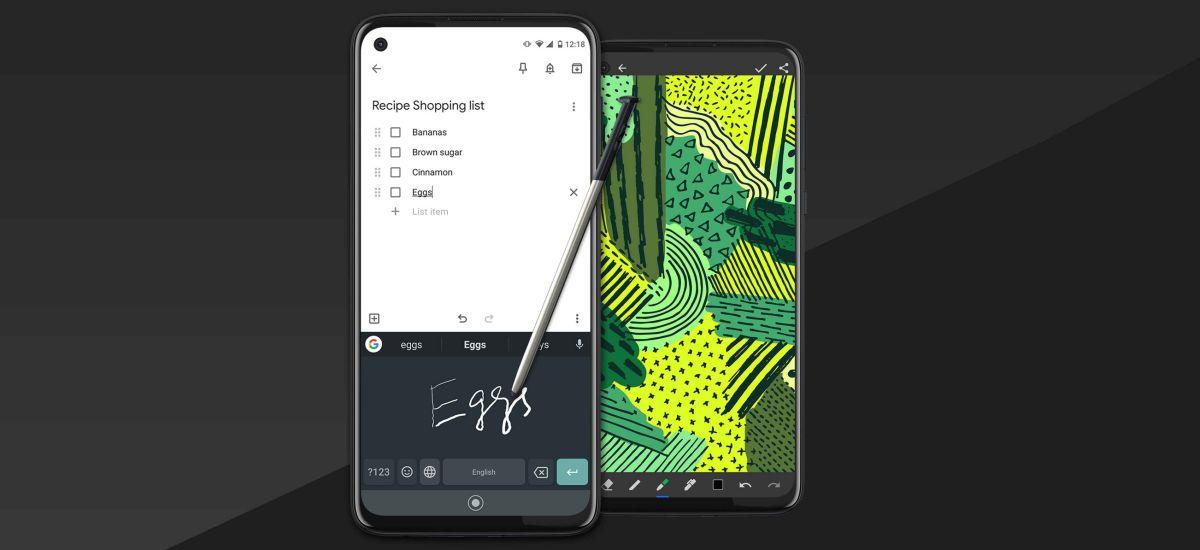 Apal ertainek estiloa duen smartphone bat behar al du?  Moto G Stylus berria baino hiru aldiz gutxiago kostatzen da Galaxy 10. oharra