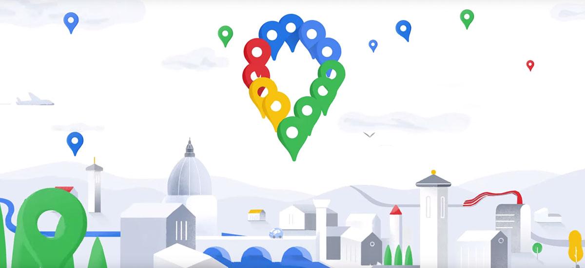 Google Maps 15 urte daramatzagu gurekin!  Ezaugarri berriak eta ikonoa iragarri dira