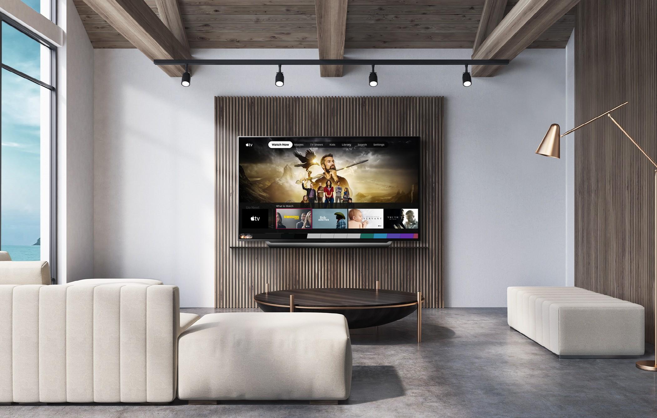 LG telebistak ekipamendu jabeentzako aukerarik onena bihurtu dira Apple'Eta.  Samsung atzean geratzen da