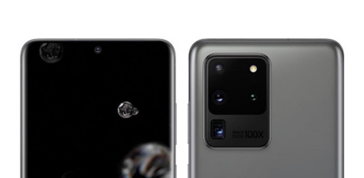Samsung Galaxy S20-k hiru lentetako argazkiak aldi berean grabatuko ditu