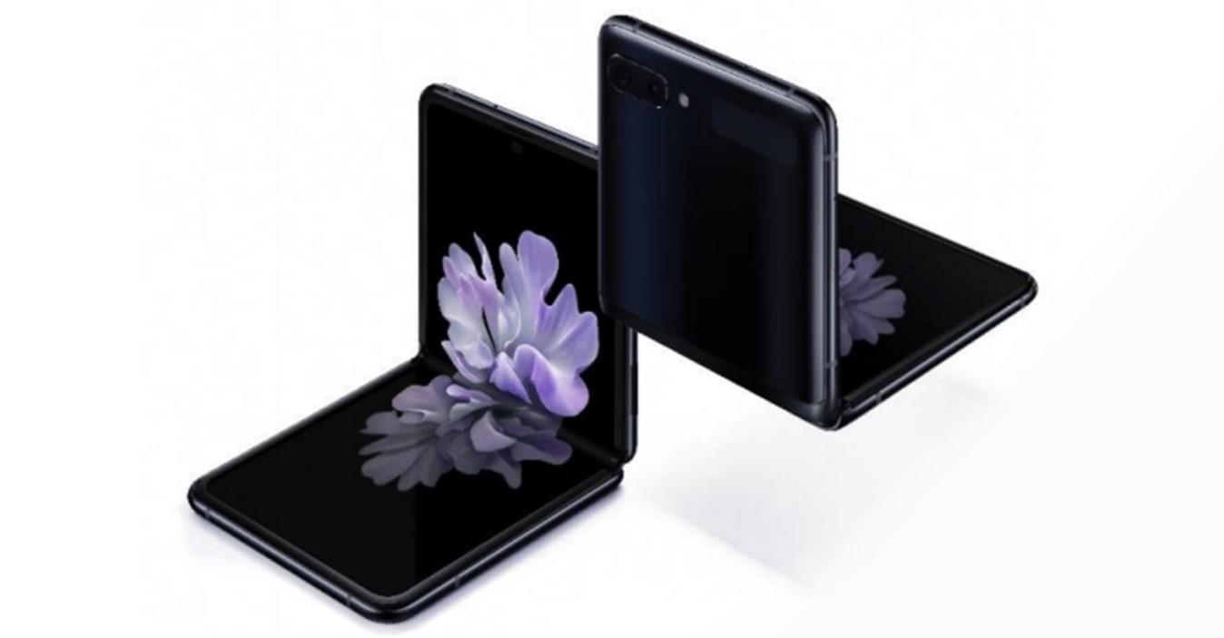 Horrela osatzen da Samsung Galaxy Flip-ekin batera.  Telefonoaren iraunkortasunari buruzko kezkak pizten dituen lehen bideoa da