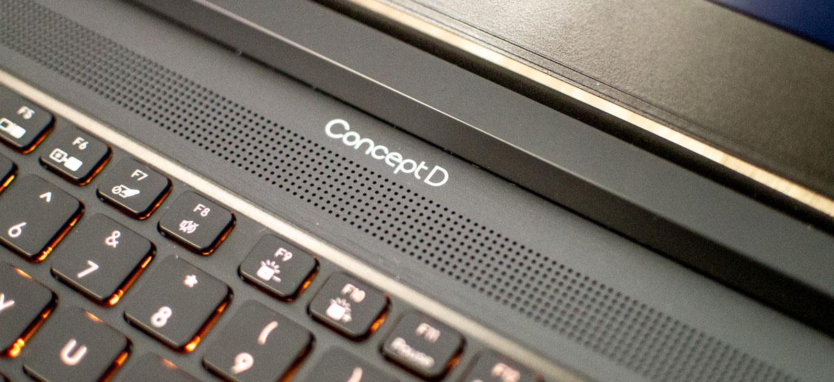 Lan egiteko toki mugikor eraginkorrak ez dira hain garestiak izan behar.  Acer ConceptD 5 Pro - berrikuspena