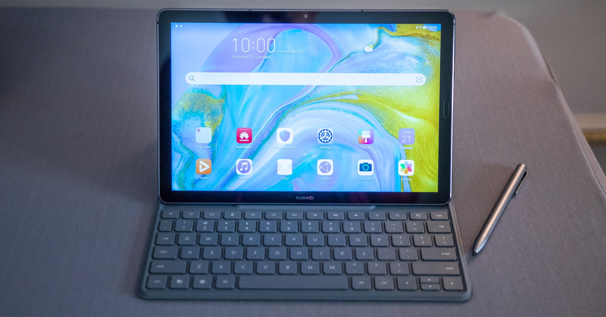 """MediaPad M6 10 da hau.8""""- Huawei-k Google-tik kanpo bizitza dagoela frogatu nahi du"""