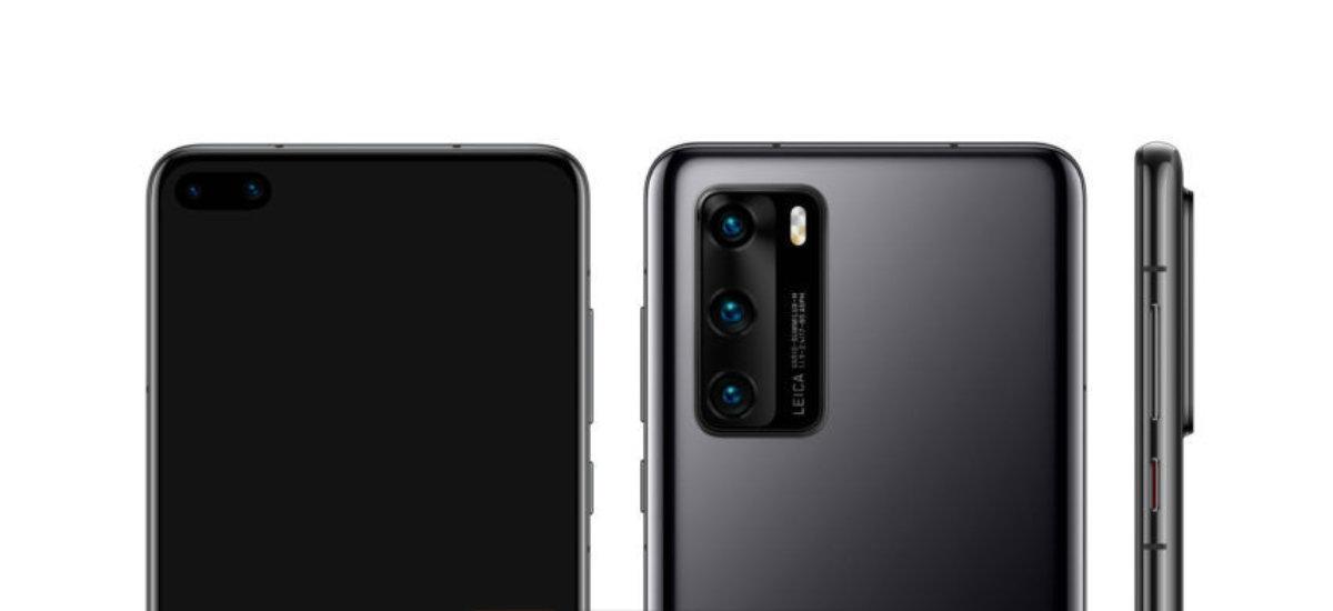Huawei P40 Pro bere aintzinean errendatzeak.  Samsung-tik bereiziko zaitu?