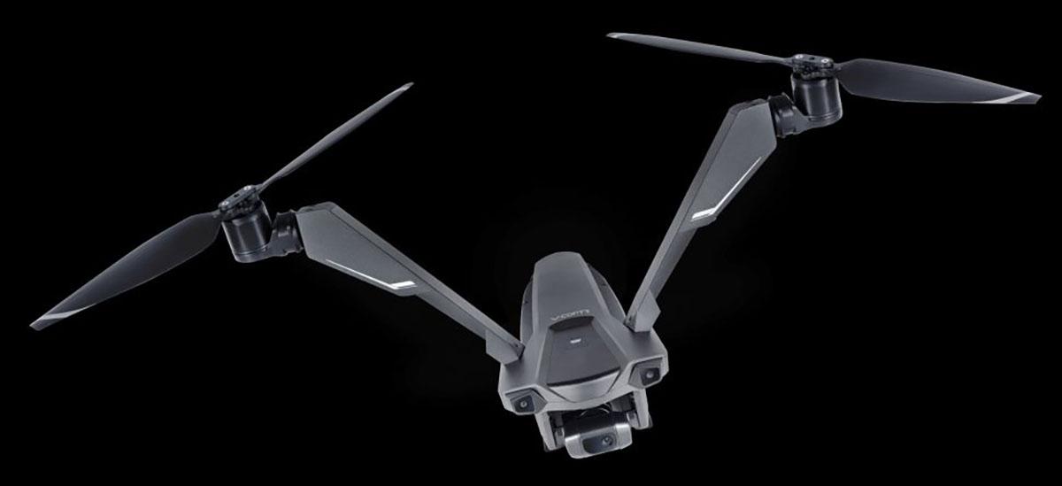 V-Coptr Falcon drona iraultza izango da.  50 minutu hegan egin dezake kargatu gabe