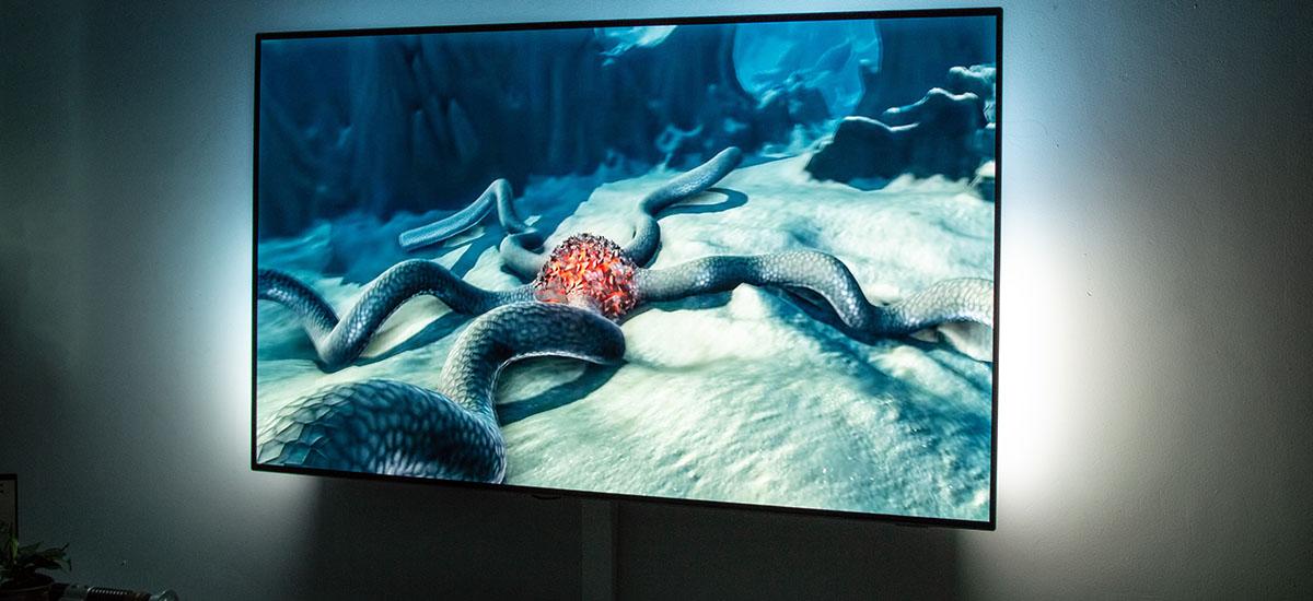 Entretenimendua delako.  Philips OLED934 telebista - berrikuspena