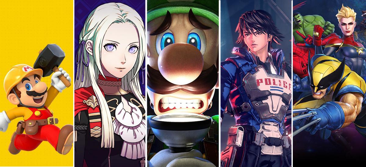 Bideo-jokoak 2019: TOP5 joko esklusiboak estreinatu dira aurten Nintendo Switch