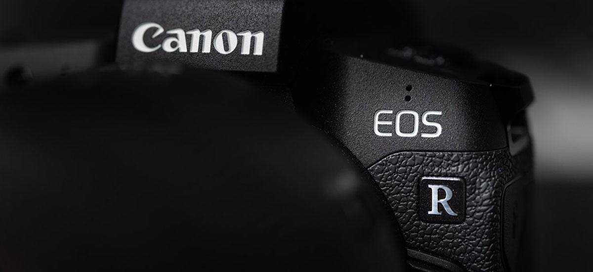 Canon EOS R Mark II horizontean.  IS bikoitzeko sistema berezia jaso dezake