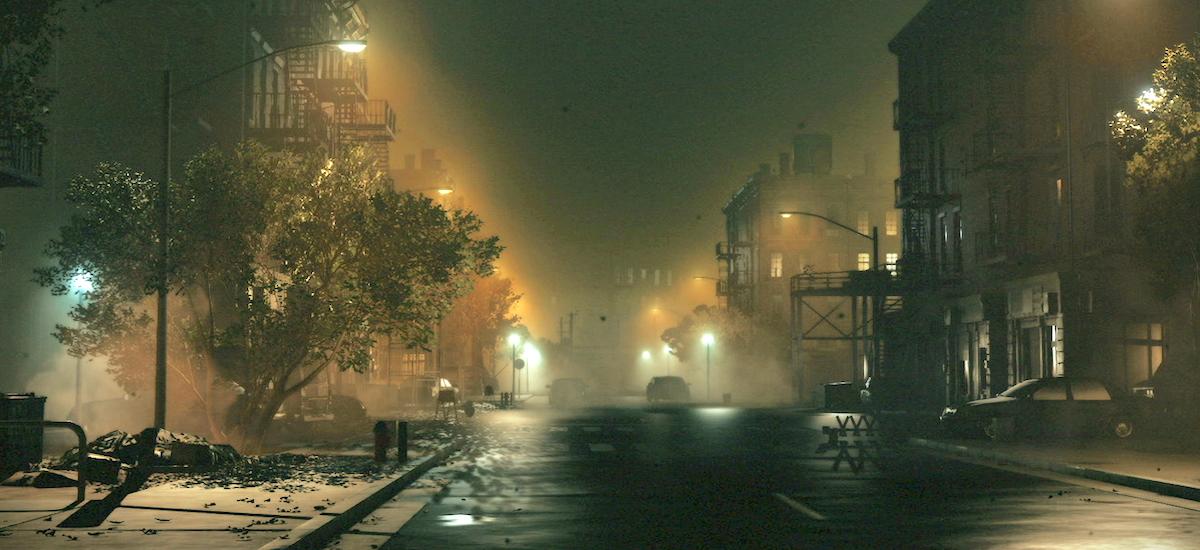 Inoiz sortu ez den hiriaren inguruko ibilaldia.  PT-ko espazio irekira irten eta Silent Hill bisitatzea lortu genuen