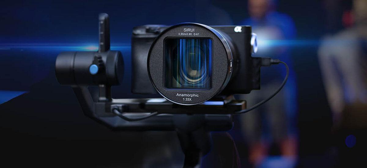 Kameraren argazki anamorfikoak 2020rako joera berria al dira?  Hemen Sirui 50 mm f /1.8 1.33x
