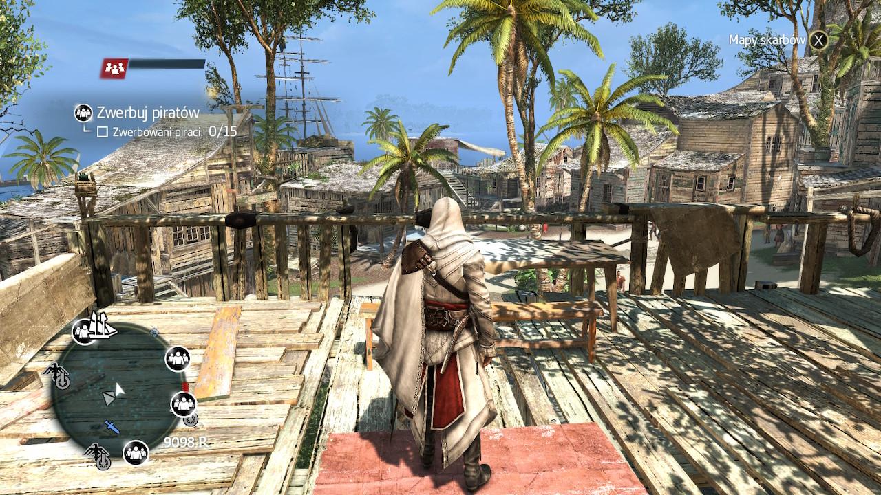 Oso harrituta nago Assassin's Creed: Black Flag on the Switch funtzionatzeak