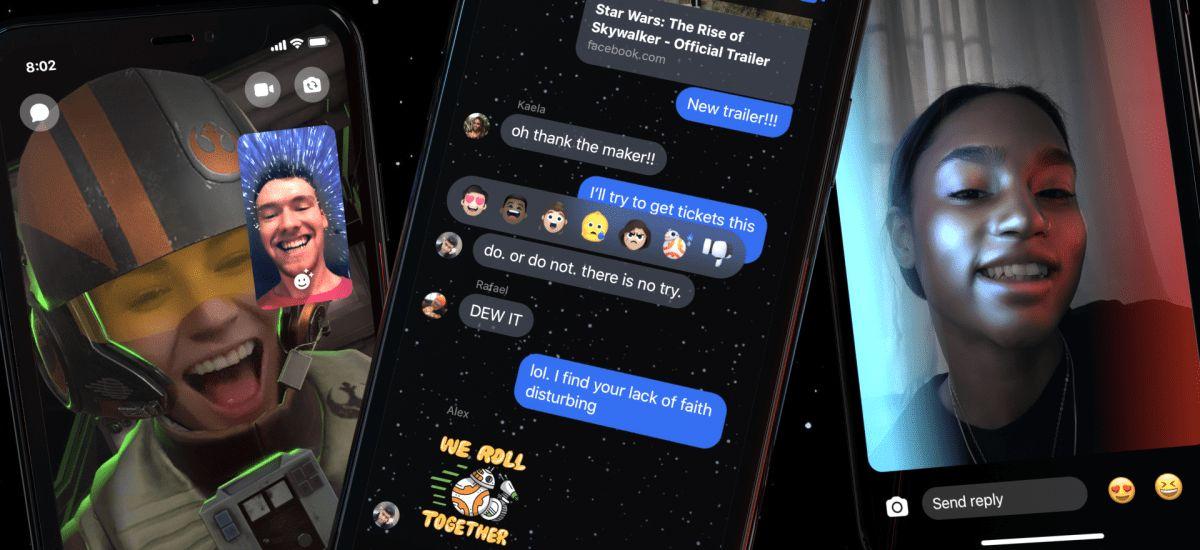 Star Wars-ek zure Messenger hitzaldiak ekaitz bidez hartuko ditu