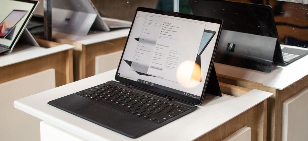 Intel eta AMD mundua uzten ari naiz.  Esperimentuaren baitan, Surface Pro X-en ARM-rekin soilik lan egingo dut