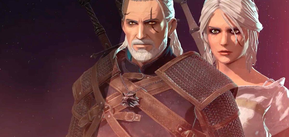 Geralt-ek mech handia kontrolatzen du eta Ciri-k tronpetak botatzen ditu zerutik.  Witcher heroiak hurrengo jokora joaten dira