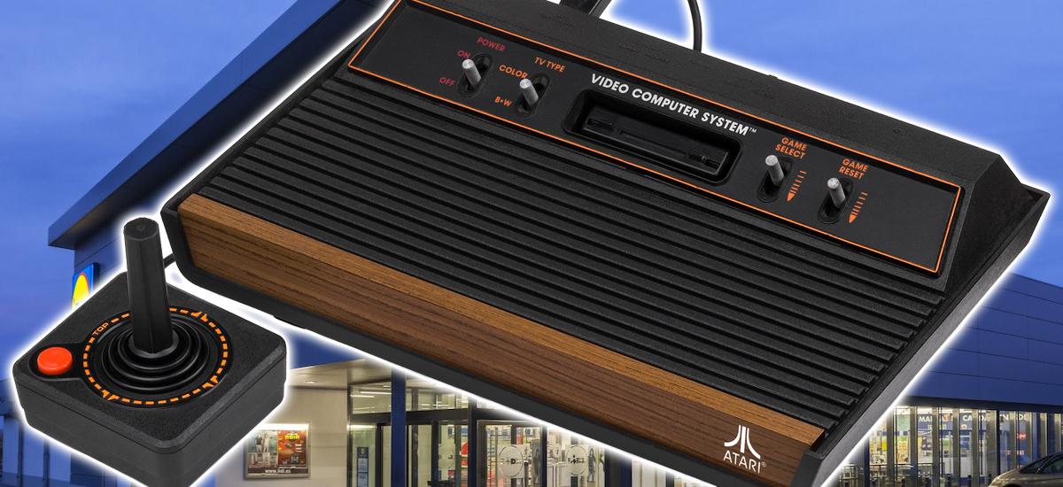 SEGA Mega Drive-k Lidl sarera joko du prezio onean eta Atari 2600 txikia 110 jokorekin