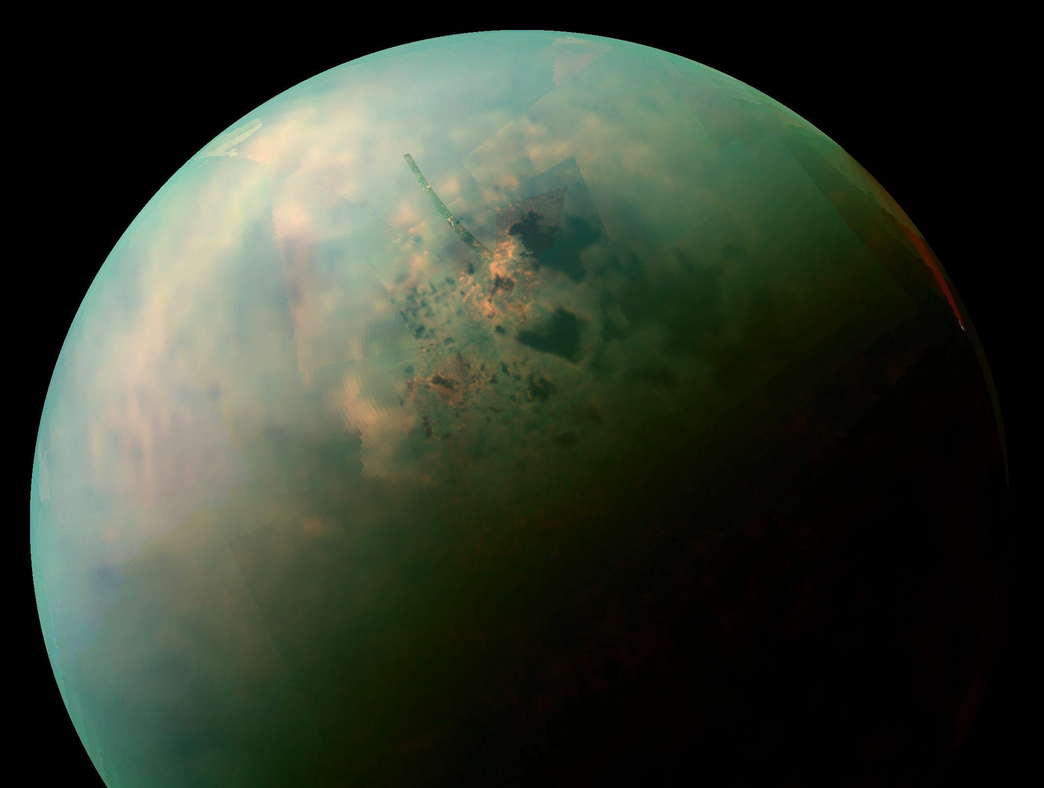 NASAk Titanen mapa zehatza sortu du - eguzki-sistemako zeruko gorputz interesgarrienetako bat