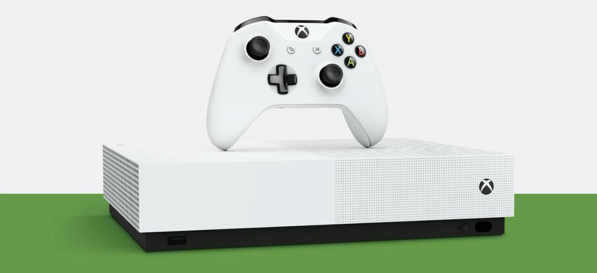 Halako prezioan, bekatua ez erosi.  Xbox One S Edizio Digitala 1 TB  bi joko ditu PLN 430erako