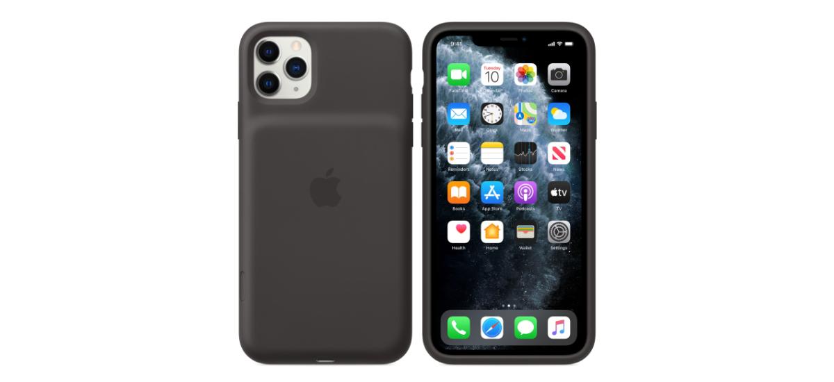 Kameraren botoia dedikatua eta bateria handiagoa iPhonean.  Hemen duzu 11 Pro Bateria Smart Case