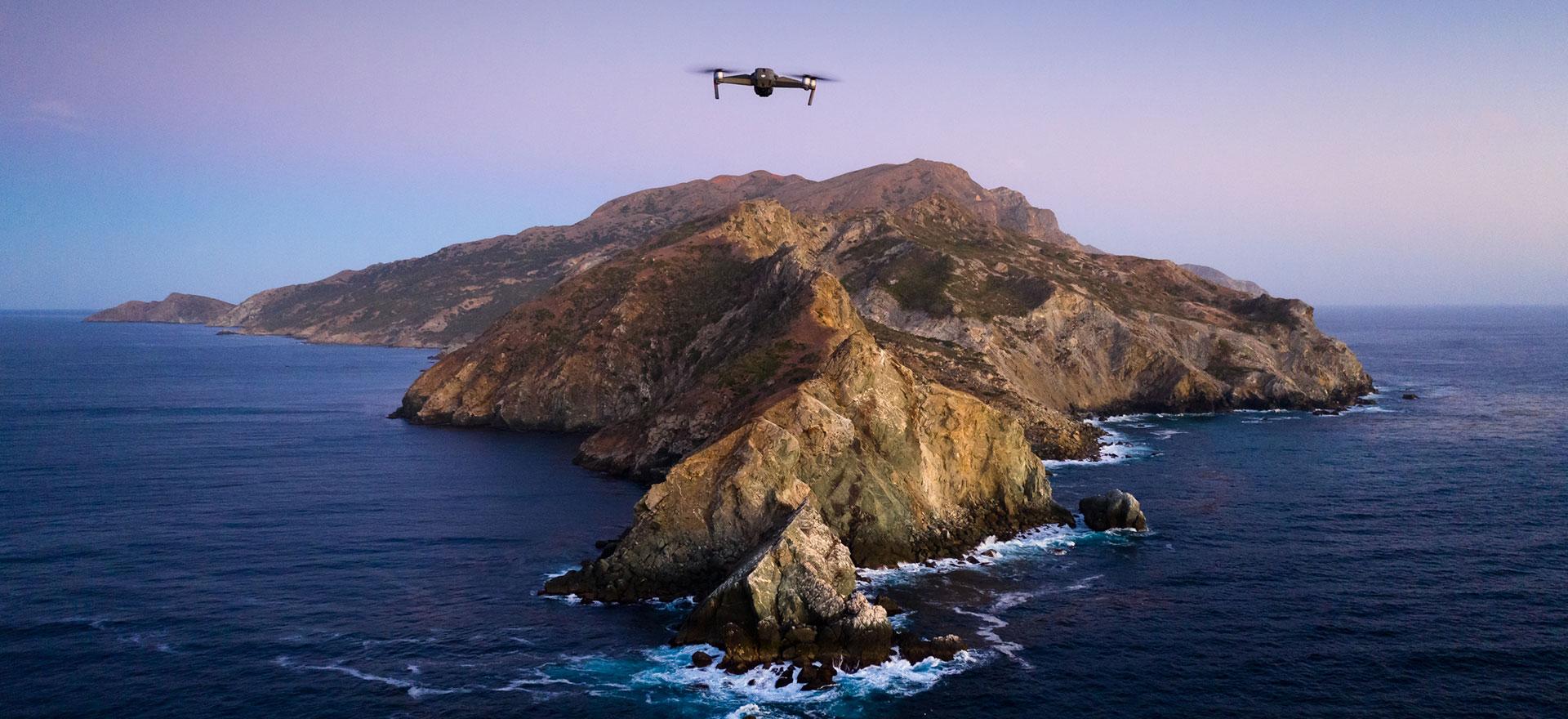 MacOS Catalina-rekin paperean jolastea erabaki zuten.  Aurrekontu handirik gabe eta klase ertaineko drone batekin