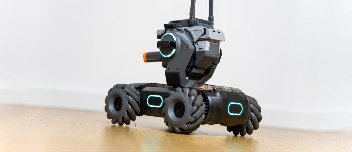 Battle robot edo programazio irakaslea?  DJI RoboMaster S1 - roboten berrikuspen adimenduna