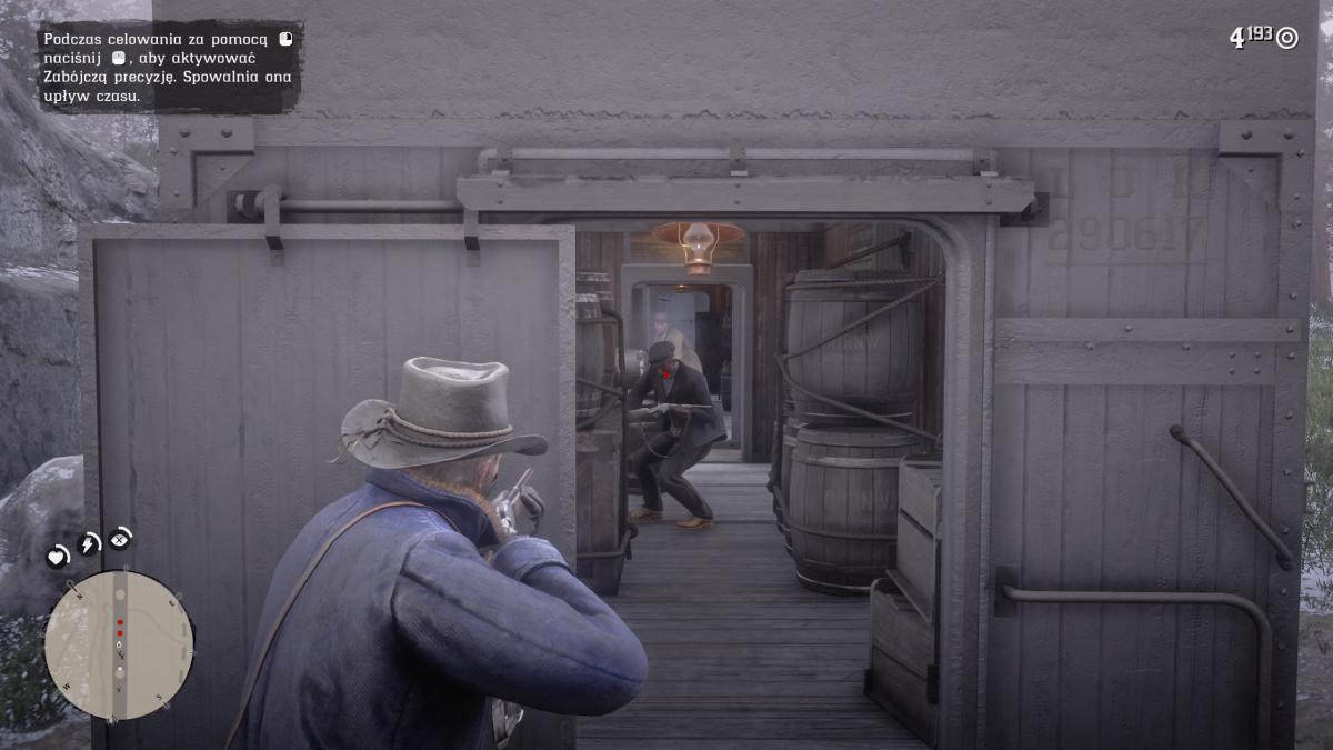 Ustez, zezenaren begia izan zen.  Red Dead Redemption 2 ordenagailuan drama bat da