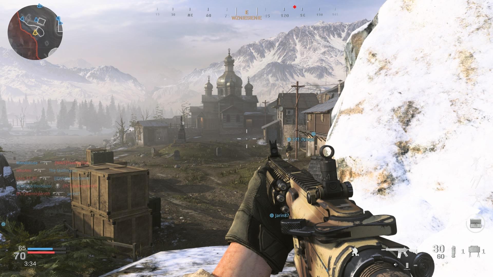 Edari bat hartzen dut eta Call of Duty Modern Warfare-k autokarabanak sustatzen dituen jokalarien lamentua lasaitzen dut.  Luma hauek musika dira 4